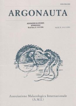 Cover Argonauta 1995 nr.10-12