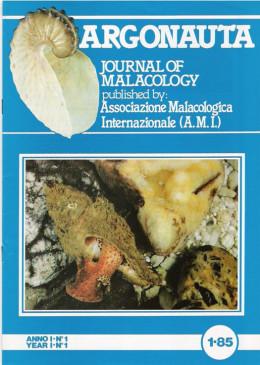 Argonauta 1985 nr.1 Cover