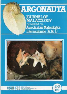 Argonauta 1985 nr.2-3 Cover
