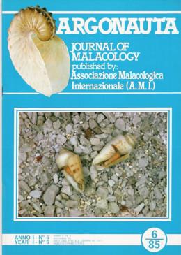 Cover Argonauta 1985 nr.6