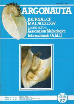 Cover Argonauta 1987 nr.3-4