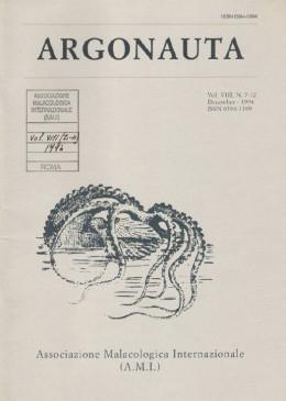 Cover Argonauta 1994 nr.7-12